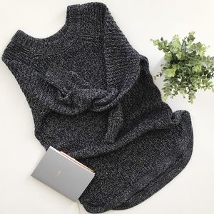 RD Style Curved Hem Tunic Sweater